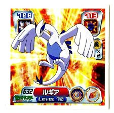 POKEMON STICKER Carte JAPANESE 50X50 2004 NORMAL N° 632 LUGIA