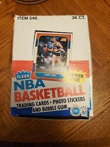 1986 FLEER BASKETBALL UNOPENED WAX PACKS