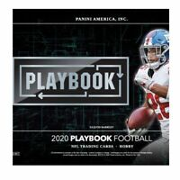 2020 PANINI PLAYBOOK FOOTBALL HOBBY BOX FACTORY SEALED IN STOCK FREE SHIPPING