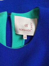 Stunning electric blue Roksanda Blouse UK10 Net-A-Porter