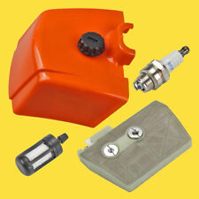 Air Filter Cover Fuel filter For STIHL 038 038AV 038 MAGNUM MS380 Chainsaw USA