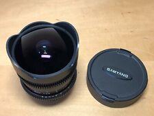 Usado - SAMYANG - Aspherical - Fish Eye CS - 8 mm - Objetivo Ojo de Pez