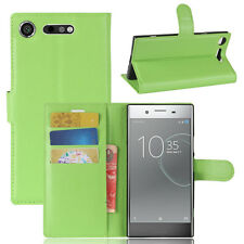 Magnetic Flip Leather Wallet Stand Case Cover For Sony Xperia XZ1 XZ/XZS Premium