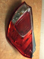 FORD FIESTA MK7 2014 REAR OS TAIL LIGHT CLUSTER
