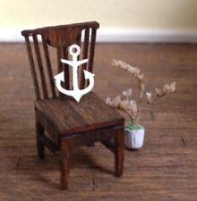 Dollhouse Miniature Quarter Scale Anchor Decor -- 1:48