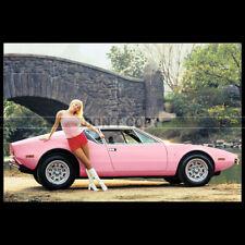 Photo A.012252 DE TOMASO PANTERA 'PLAYMATE PINK' LIV LINDELAND 1972