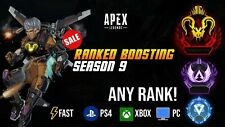 Apex legends Masters Pred Boost   ANY CONSOLE  ANY RANK / PS4 / XBOX / PC