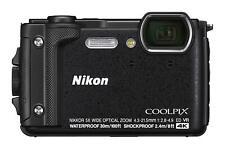 Nikon 2019 Model COOLPIX W300 BK Black Waterproof Digital Camera W300BK New