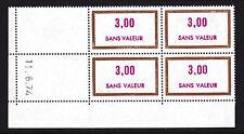 FRANCE TIMBRE FICTIF F203 ** MNH, coin daté 11.6.74, TB