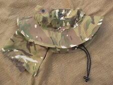 GENUINE issue BRITISH ARMY MTP MULTICAM BUSH BOONIE JUNGLE HAT 59 CM L LARGE pcs