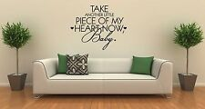 Wall Sticker Quotes Words Inspire Message Romantic Love ig1304