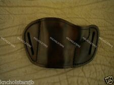 "Belt Slide Cross Draw Leather Holster 1911 3"", 4"", 5"" see full gun list.. U.S.A."