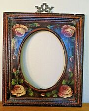 Vintage Hand Painted Frame