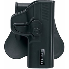 BULLDOG RAPID RELEASE OWB KYDEX PADDLE HOLSTER FOR SMITH &WESSON M&P SHIELD 40