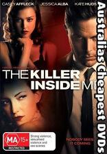 The Killer Inside Me DVD NEW, FREE POSTAGE WITHIN AUSTRALIA REGION 4