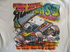 Craig Eshenaur #85 1991 PA Posse ASCOC World of Outlaws Sprint Car Shirt XL