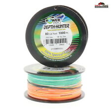 PowerPro Spectra Super 8 Slick Braid Line Aqua Green Pick Line Test//Spool Size