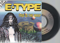 E-Type This Is The Way Cd Single France French Card Sleeve inc. waterdreamix