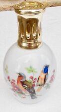 LAMPE BERGER COMPLETE LIMOGES FRANCE H.O MOTIFS OISEAUX PARFAIT  ETAT