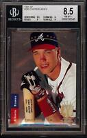 1993 Upper Deck SP Foil #280 Chipper Jones HOF Atlanta Braves BGS 8.5 NM-MT ++