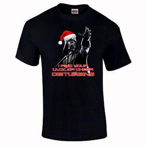 Noël Darth Vader Étoile Drôle Guerres Sith Force Cadeaux T-Shirts