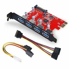 Inateck Superspeed 4 Ports PCIE to USB 3.0 Expansion Card Interface USB 3.0