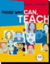Those Who Can, Teach, 10th Edition, Kevin Ryan, James M. Cooper, Good Book