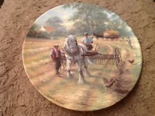 Royal Doulton And Then Begins The Raking Collector's Plate