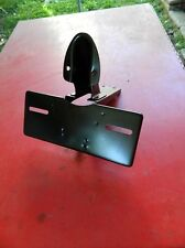 Honda Z50 tail light bracket BLK powder coated finished metal originals 69- 71