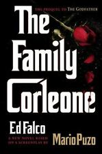 THE FAMILY CORLEON By Ed Falco - (2012) Hard Cover- Awesome Story - Must Read !