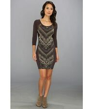 Free People 'Out of Africa' Dress Sz L - Sexy Tribal Inspired Style! NWT