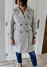 luxueux trench imperméable beige WEEKEND MAX MARA taille 42 fr i46 ÉTAT NEUF