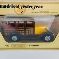 Matchbox Models Of Yesteryear Y21 1930 Ford A 1978 Lesney