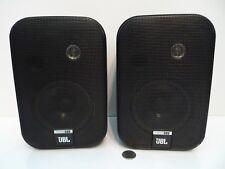 Pair JBL Control 1 Indoor Outdoor Speakers Black JBL Control One Speakers !!!