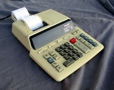 Sharp Calculator Adding Machine EL 2630GII 2 Color 12 Digit + 2 Rolls of Paper