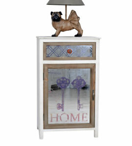 Dresser Bedside Tables Country Style Mirror Cabinet Wardrobe Antique Nightstand