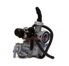 Honda 19mm Carburetor w Fuel Valve PZ19 Keihin ATC110 TRX90 ATC 110 TRX 90 ATV