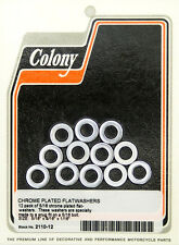 "5/16"" Chrome Flat Washers Colony 2110-12"