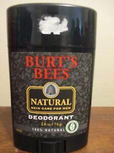 Burt's Bees Natural Skin Care For Men Deodorant 100% Natural Discontinued