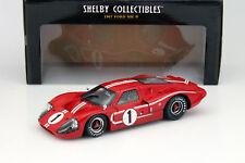 Ford GT40 MK IV #1 Winner 24h LeMans 1967 Gurney, Foyt 1:18 ShelbyCollectibles