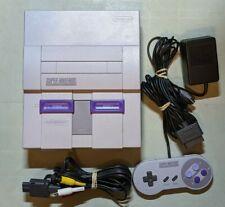Super Nintendo SNES System Console Authentic & Clean!!