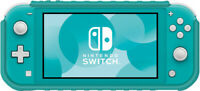 Hybrid System Armor - Turquoise - for Nintendo Switch Lite [New ]