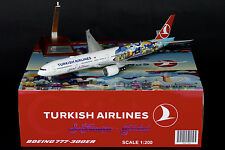 "Turkish Airlines 777-300ER ""San Francisco"" JC Wings 1:200 Diecast Models XX2790"