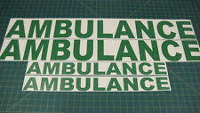 Ambulance 900mm 600mm decals stickers graphics Emergency First Aid