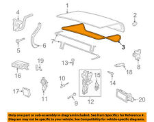 Lincoln FORD OEM 03-11 Town Car Trunk Lid-Weatherstrip Seal 3W1Z5443720AA