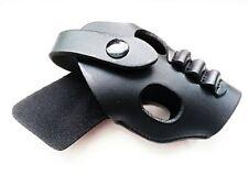 Army Force Black Leather Rh Pistol Belt Holster for Ppk Series (Af-Hl006)