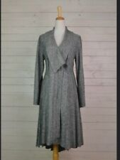 SALE STUNNING GREY BOILED WOOL LONG JACKET, BOHEMIA OF SWEDEN. RRP £145