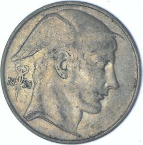 Better Date - 1950 Belgium 20 Francs - SILVER *635