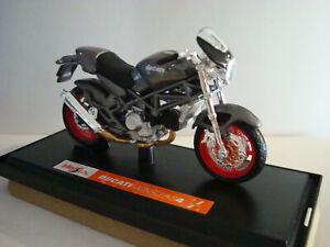 Ducati Monster S 4 Grau Antrazith - 1:18 Maisto
