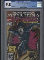Morbius The Living Vampire #1 CGC 9.8 Rise of the Midnight Suns 1992